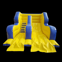 Blue small inflatable slideGI148