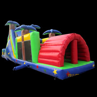 tropical rainforest inflatable obstacles[GE089]