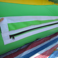Yellow Large Forest Inflatable SlideGI142