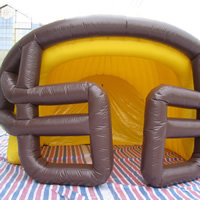 Baseball helmet inflatable tentGN071