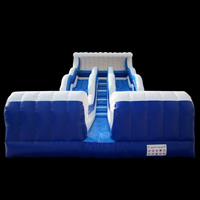 Large inflatable slide, Dual- slideGI144