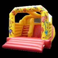 inflatable bouncer moonwalksGB039