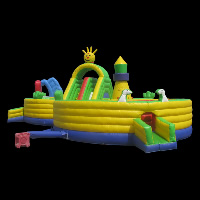 happy inflatable funlandGF076