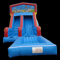 inflatable pool slideGI134